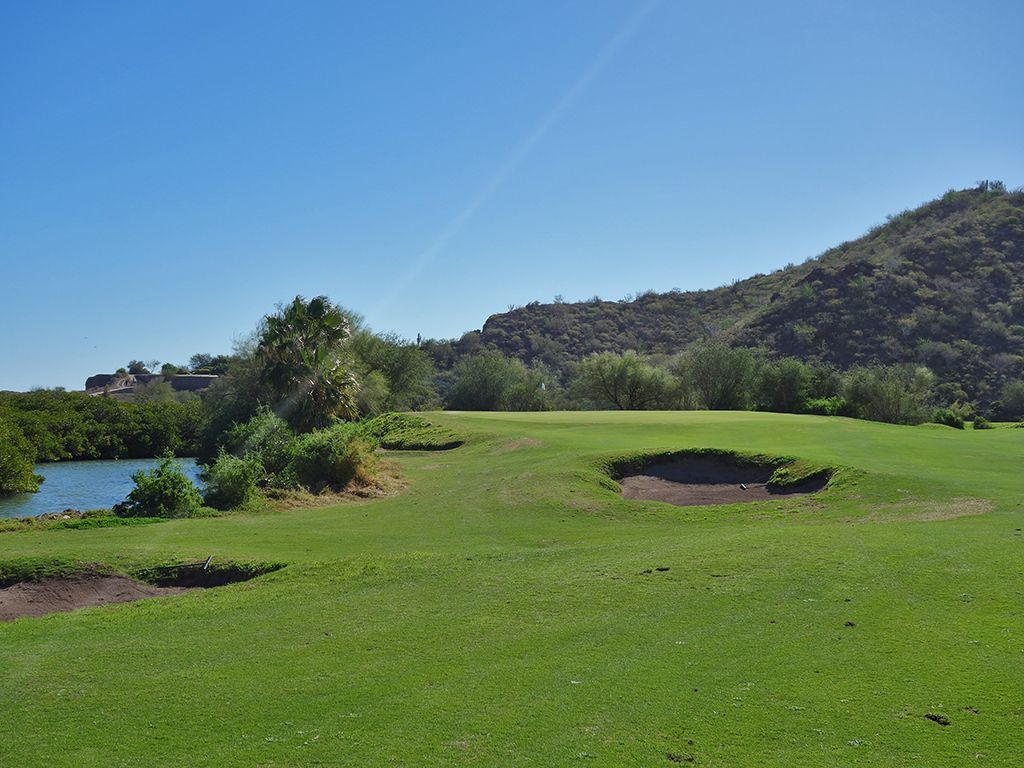 16th Hole at Loreto Bay Golf Resort & Spa  (324 Yard Par 4)