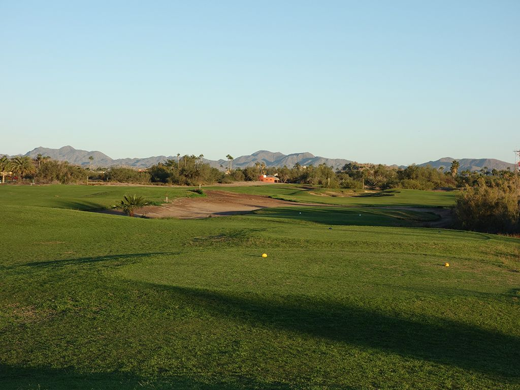 3rd Hole at Loreto Bay Golf Resort & Spa  (460 Yard Par 4)