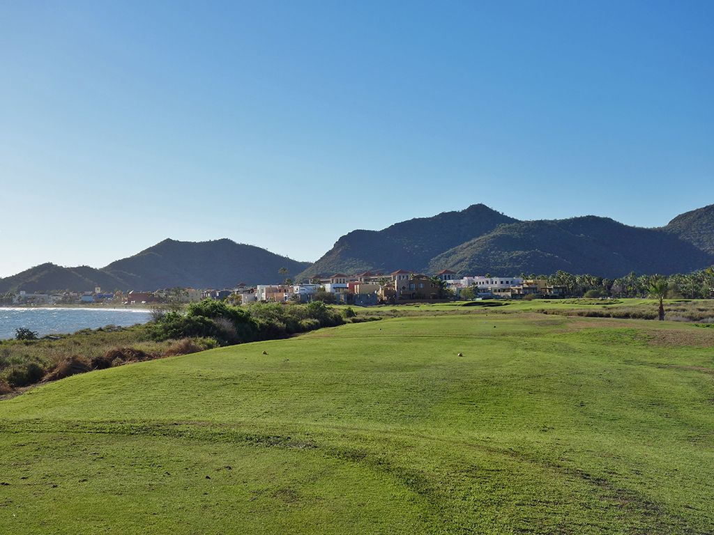 8th Hole at Loreto Bay Golf Resort & Spa  (324 Yard Par 4)