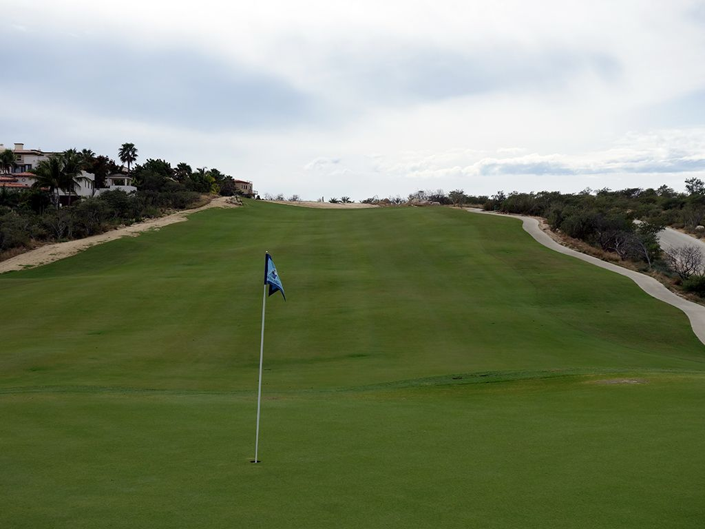 5th (Nicklaus II) Hole at Puerto Los Cabos Golf Club (Nicklaus II and Norman) (393 Yard Par 4)