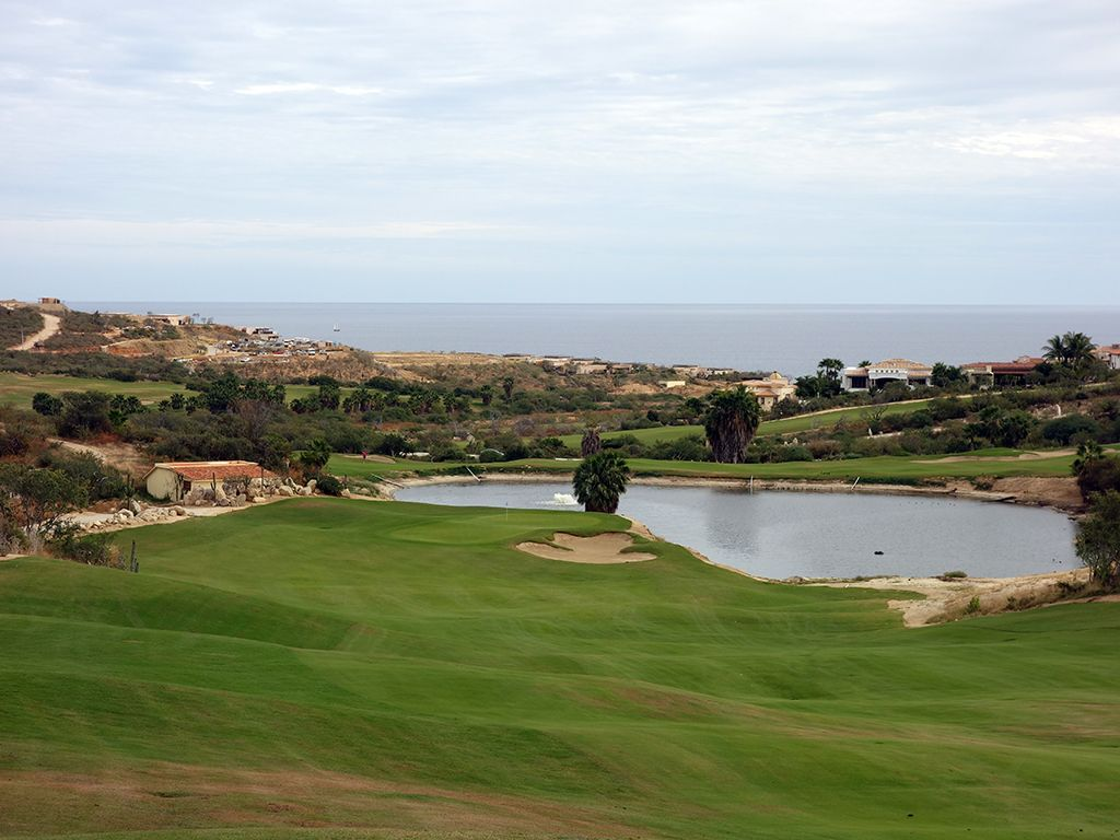 9th (Nicklaus II) Hole at Puerto Los Cabos Golf Club (Nicklaus II and Norman) (546 Yard Par 5)