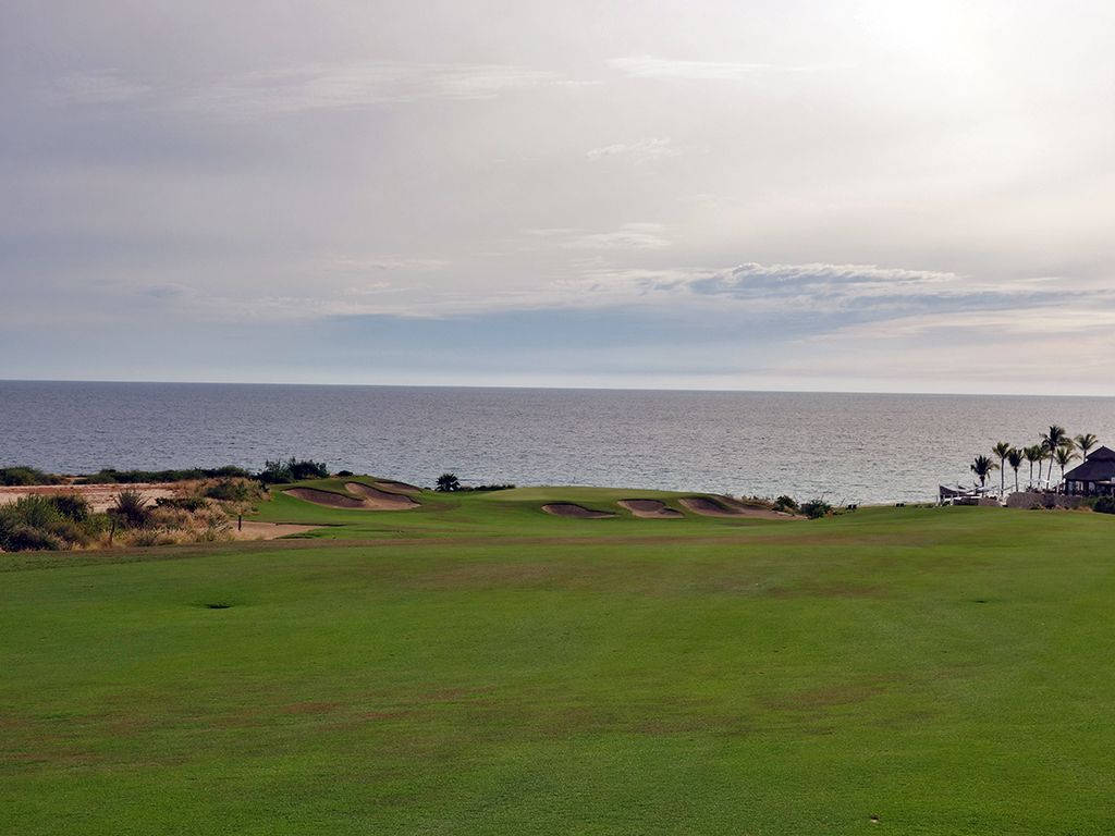 7th (Norman) Hole at Puerto Los Cabos Golf Club (Nicklaus II and Norman) (623 Yard Par 5)