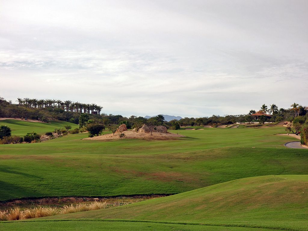 8th (Norman) Hole at Puerto Los Cabos Golf Club (Nicklaus II and Norman) (459 Yard Par 4)