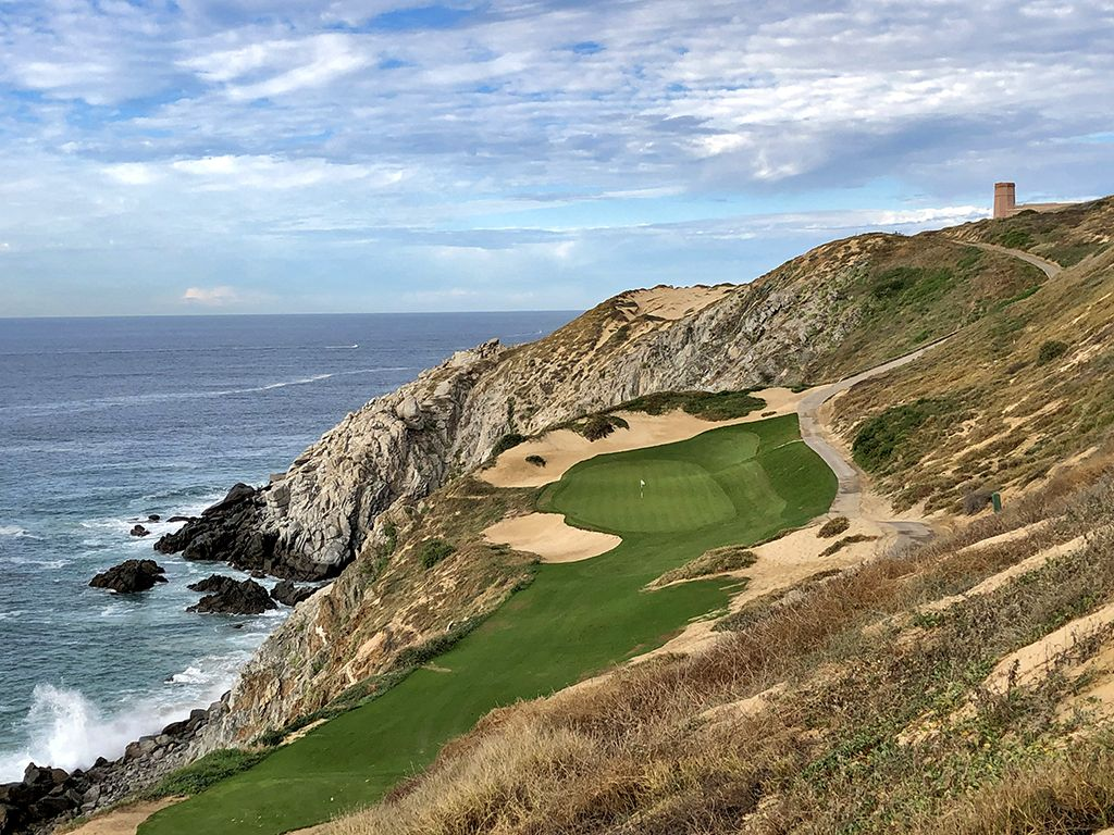 The all-world 6th hole at Quivira