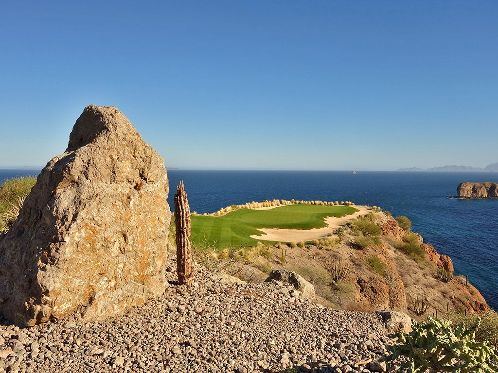 The hole everyone comes to play at TPC Danzante Bay; the 17th