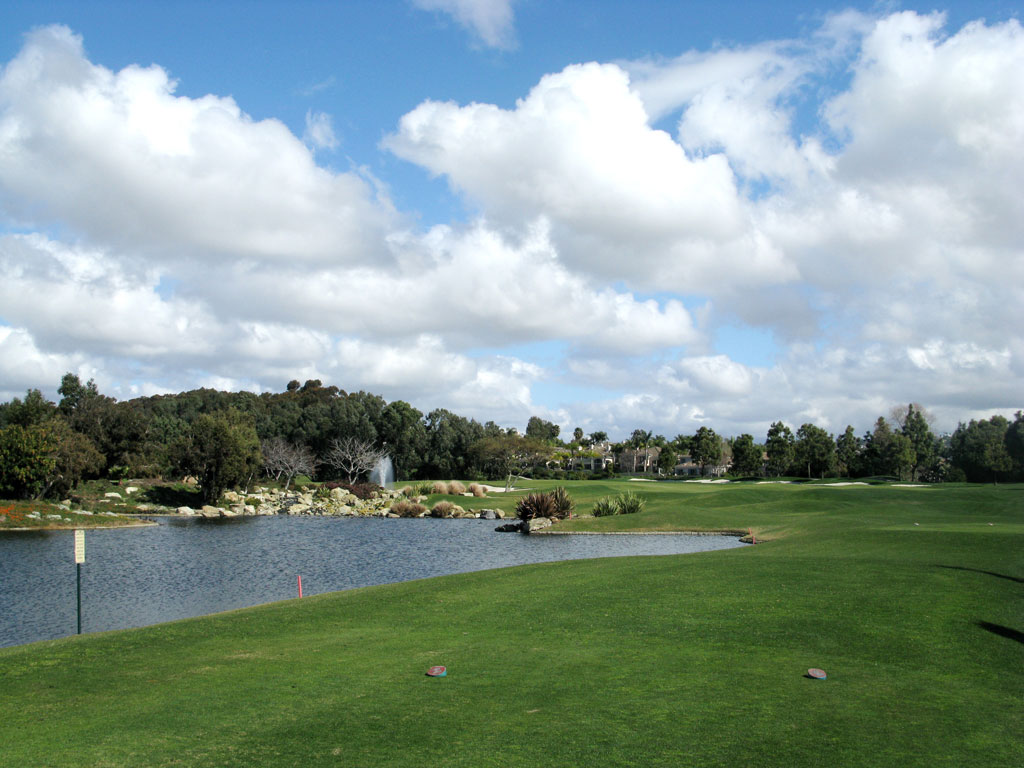10th Hole at Aviara at Four Seasons Resort (515 Yard Par 5)