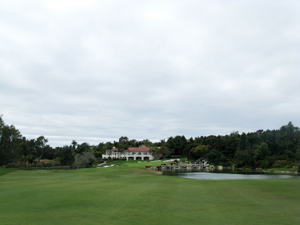 18th Hole at Aviara at Four Seasons Resort (443 Yard Par 4)