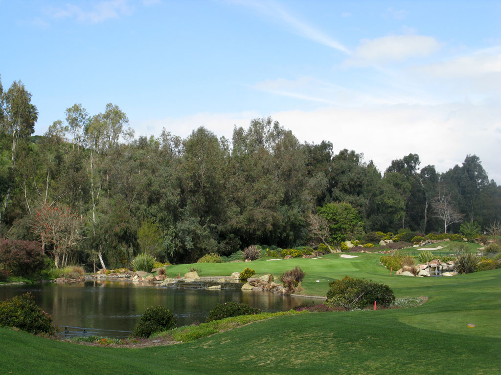 3rd Hole at Aviara at Four Seasons Resort (149 Yard Par 3)