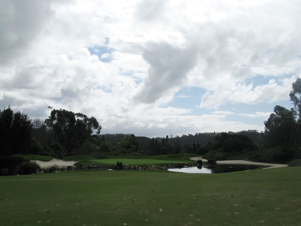 8th Hole at Aviara at Four Seasons Resort (536 Yard Par 5)