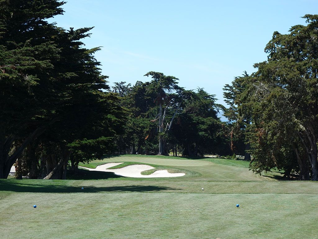 4th Hole at Bayonet Golf Club (201 Yard Par 3)