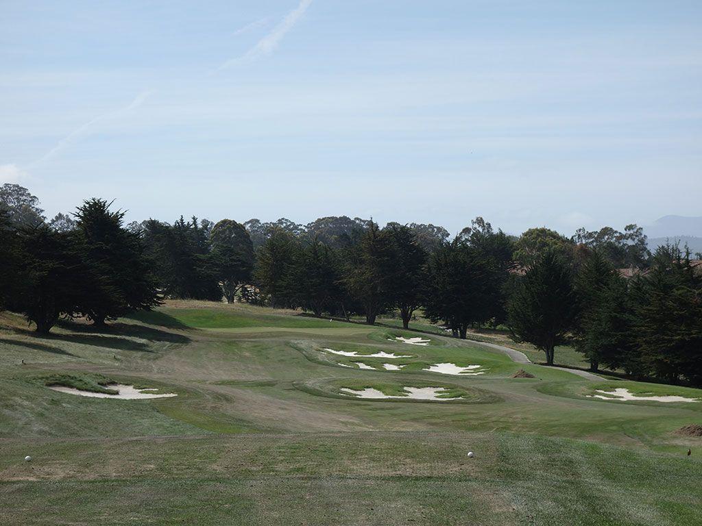 16th Hole at Black Horse Golf Club (326 Yard Par 4)