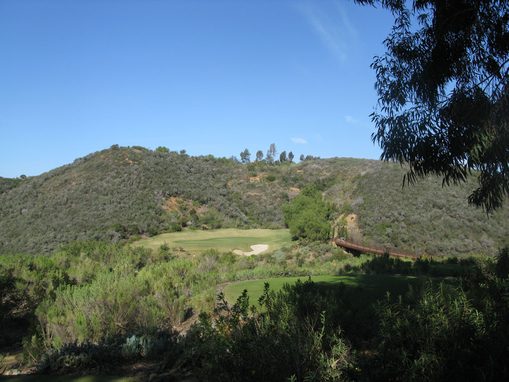11th Hole at Bridges at Rancho Santa Fe (180 Yard Par 3)