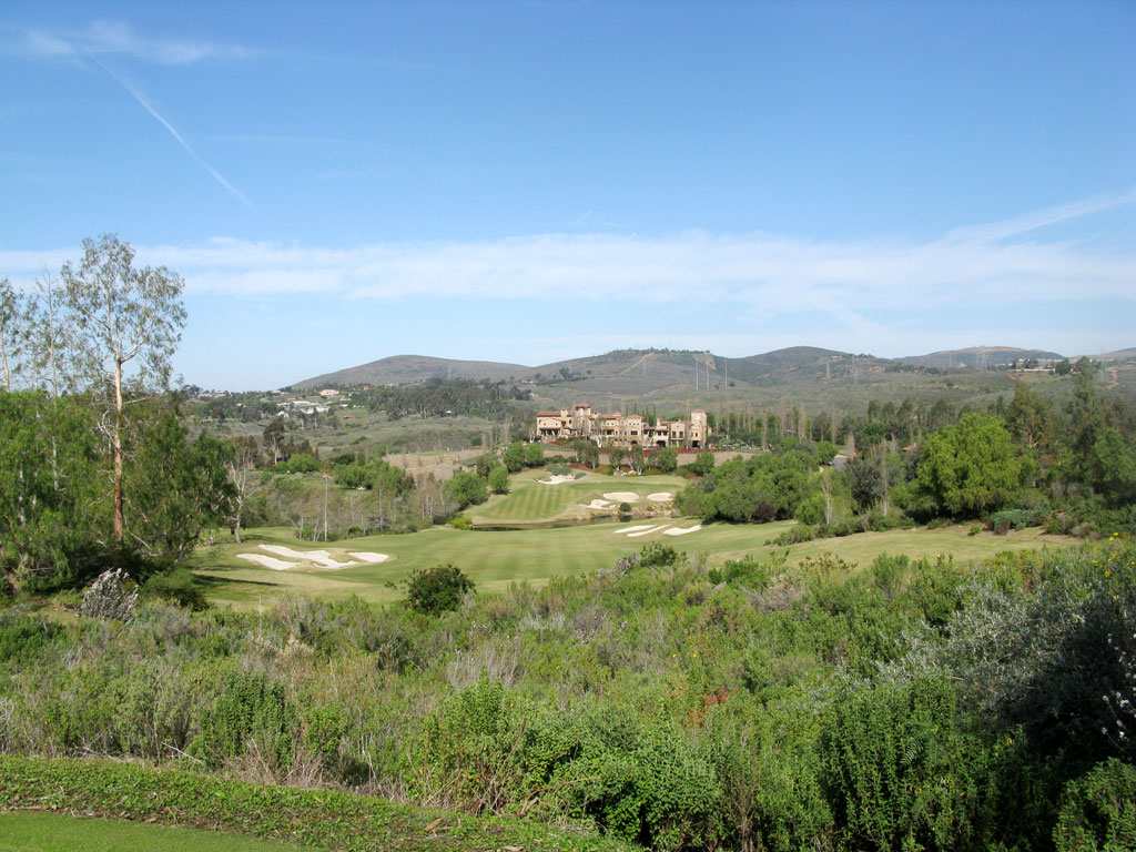 18th Hole at Bridges at Rancho Santa Fe (441 Yard Par 4)