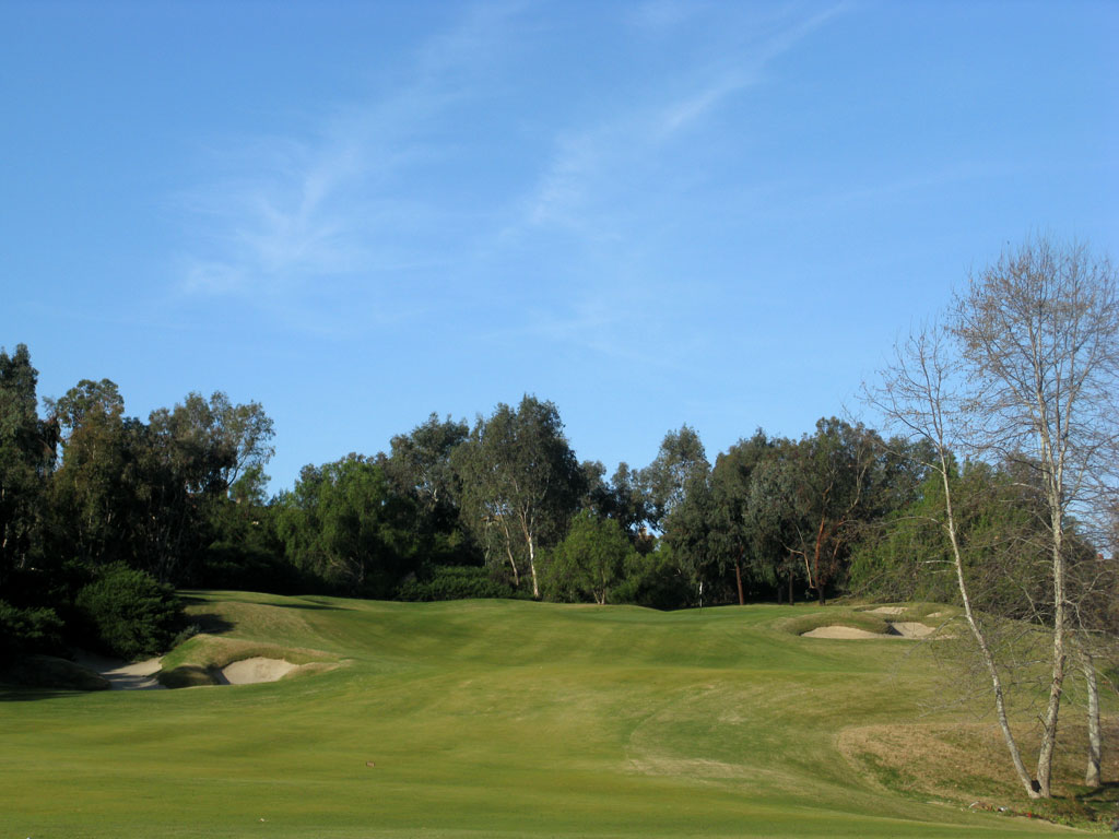 5th Hole at Bridges at Rancho Santa Fe (429 Yard Par 4)