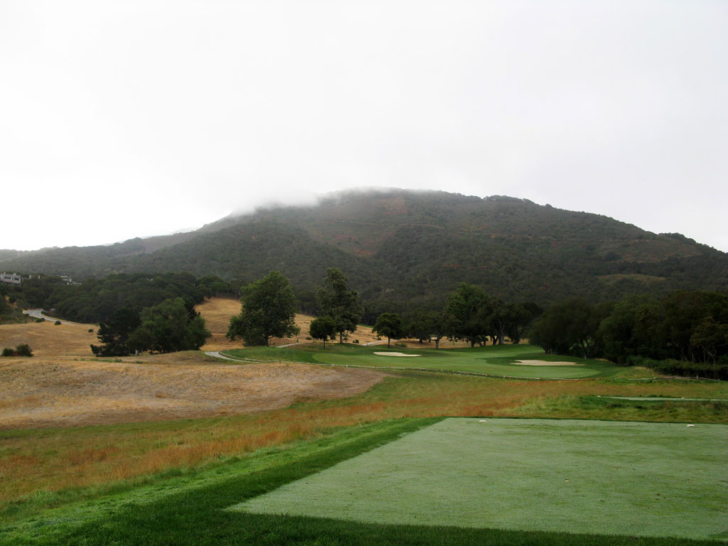 10th Hole at Carmel Valley Ranch (454 Yard Par 5)