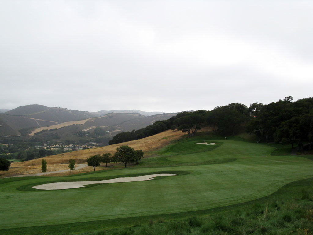 11th Hole at Carmel Valley Ranch (426 Yard Par 4)