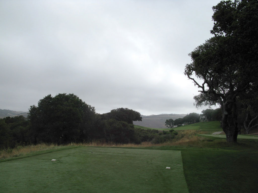 12th Hole at Carmel Valley Ranch (394 Yard Par 4)