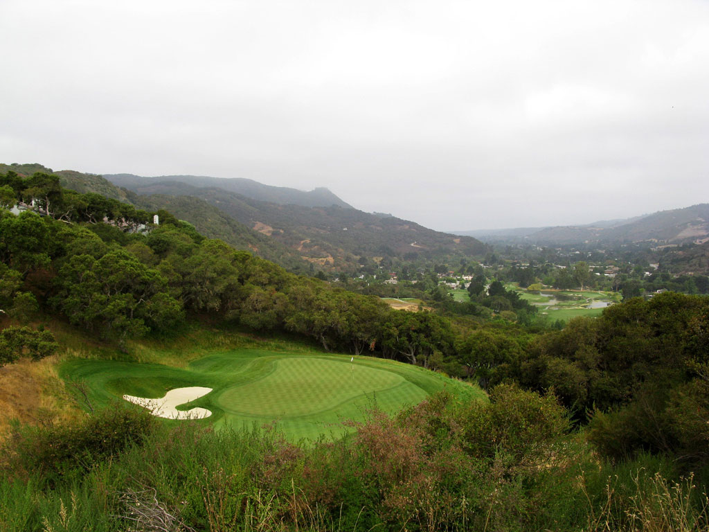 13th Hole at Carmel Valley Ranch (141 Yard Par 3)