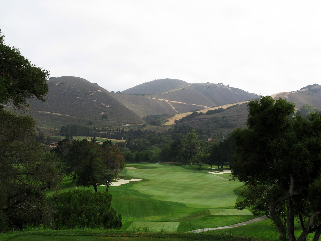 15th Hole at Carmel Valley Ranch (411 Yard Par 4)