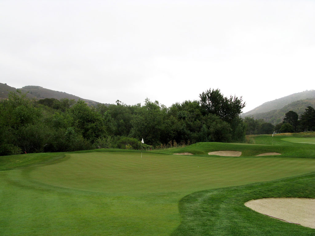 7th Hole at Carmel Valley Ranch (118 Yard Par 3)