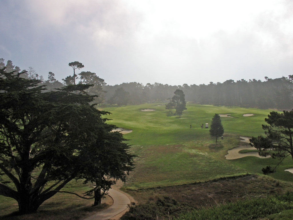 The most reachable par five on the course, Cypress Point gives strokes back on this hole