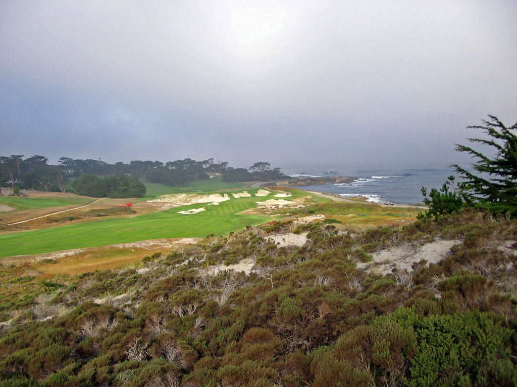 Cypress Point 13th hole