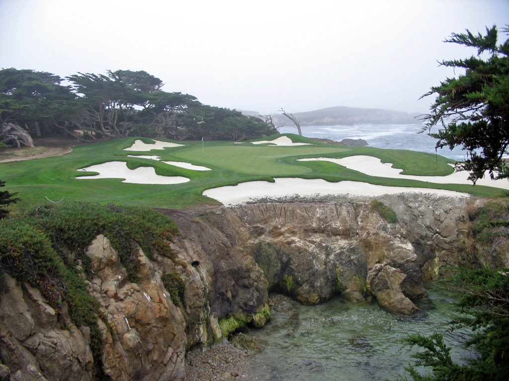 Cypress Point 15th hole