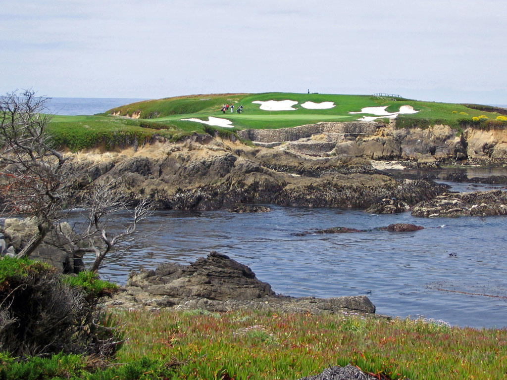 Cypress Point 16th hole