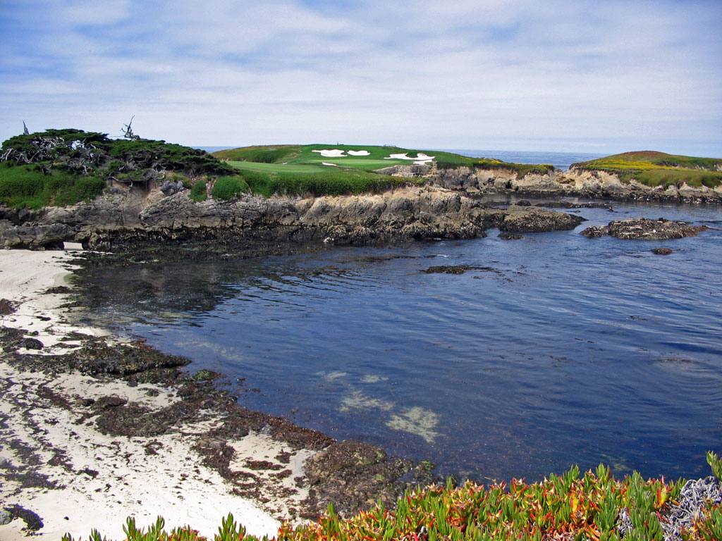 The best golf hole on earth; #16 at Cypress Point