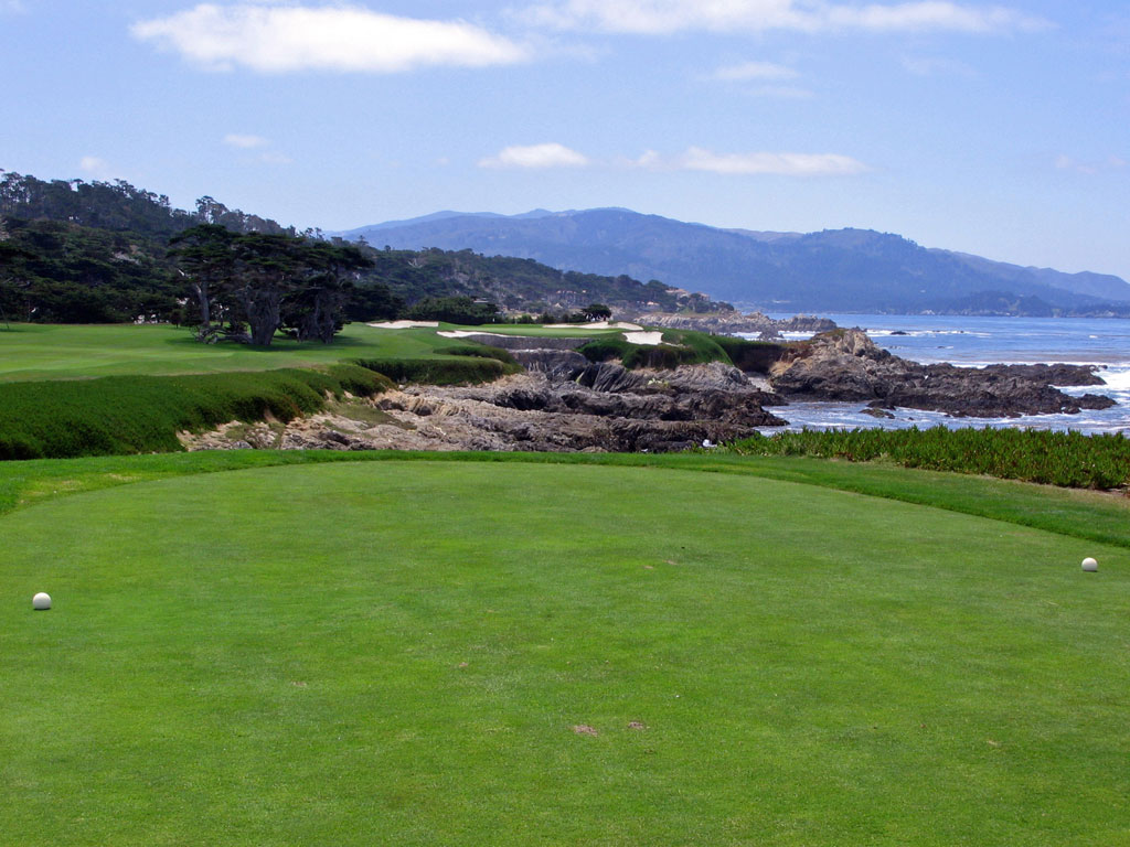 Cypress Point 17th hole