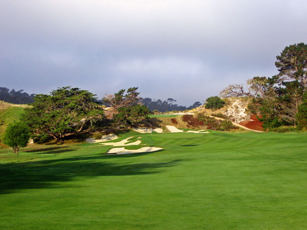 Cypress Point 6th hole
