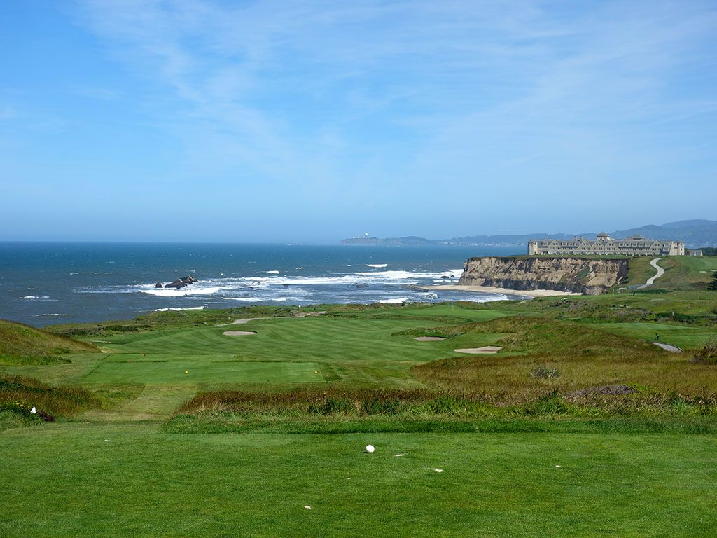 16th Hole at Half Moon Bay Resort (Ocean) (403 Yard Par 4)