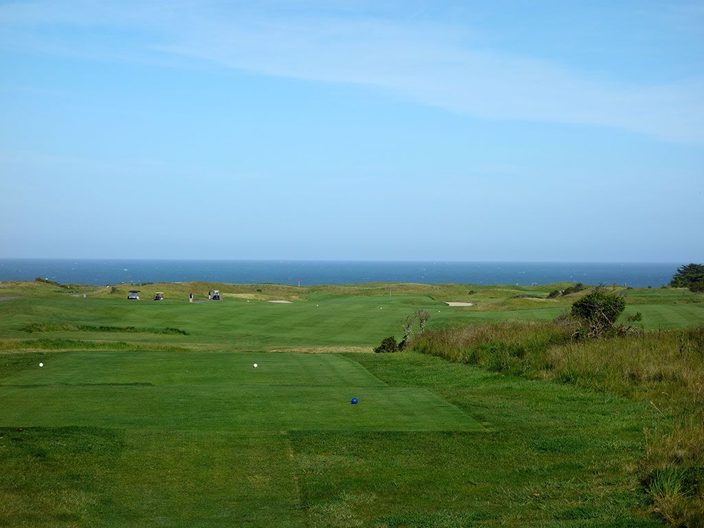 5th Hole at Half Moon Bay (Ocean) (465 Yard Par 4)