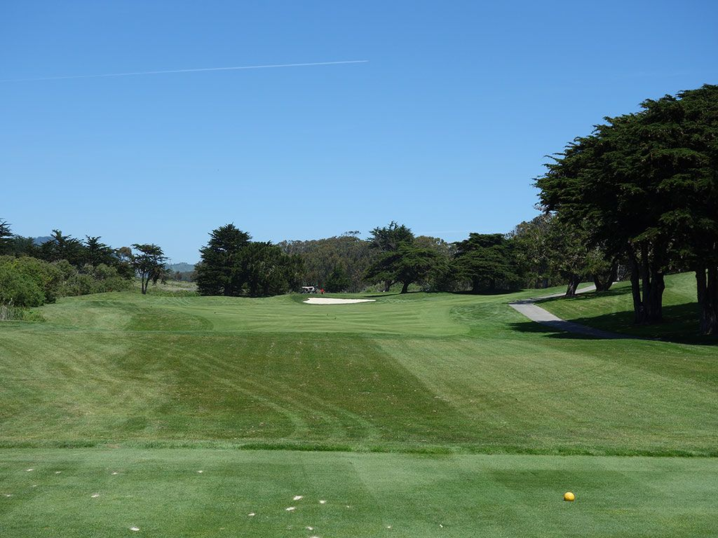 10th Hole at Half Moon Bay (Old) (546 Yard Par 5)