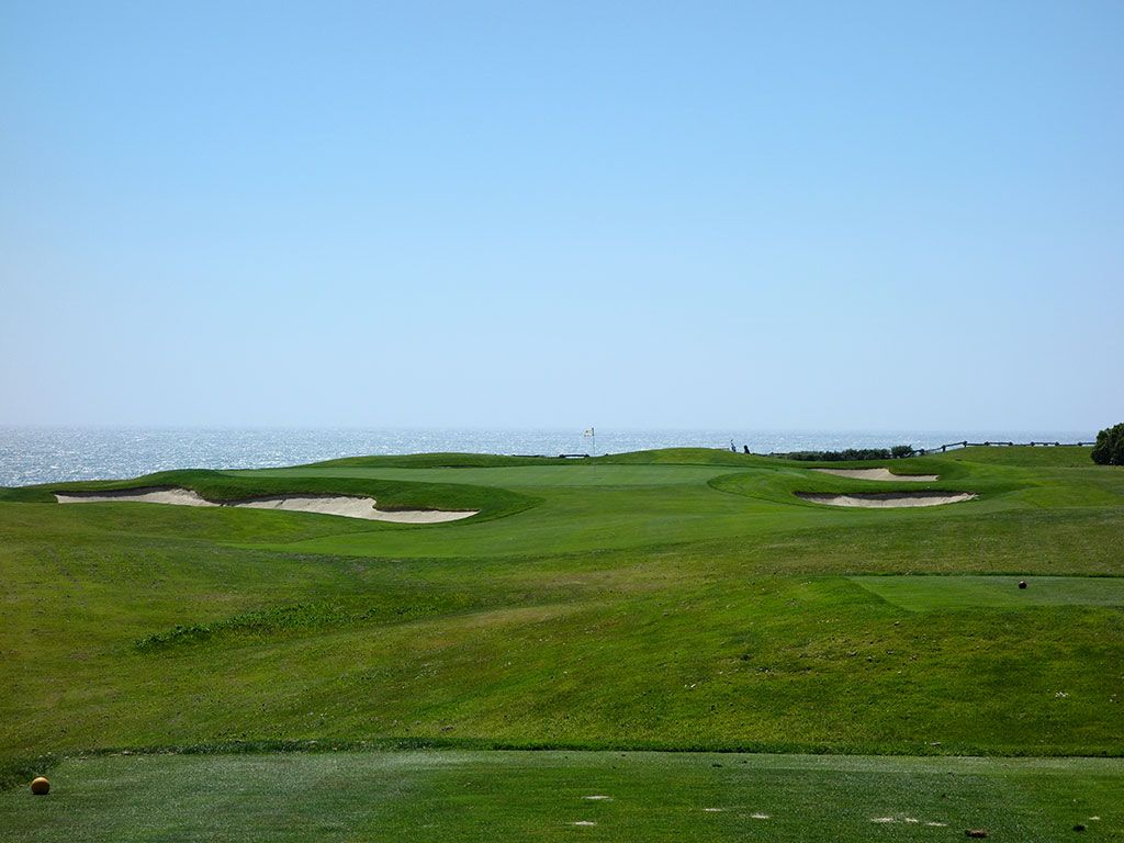 17th Hole at Half Moon Bay (Old) (167 Yard Par 3)