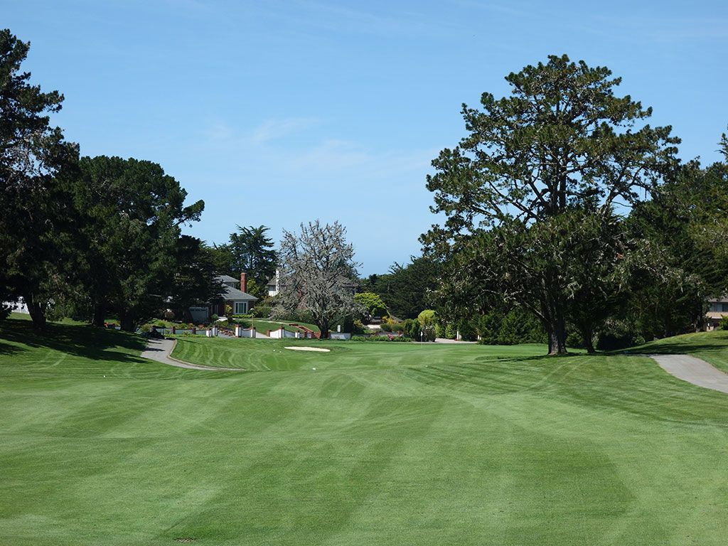 5th Hole at Half Moon Bay (Old) (499 Yard Par 5)