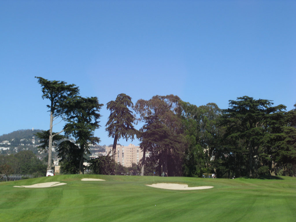 10th Hole at TPC Harding Park (550 Yard Par 5)