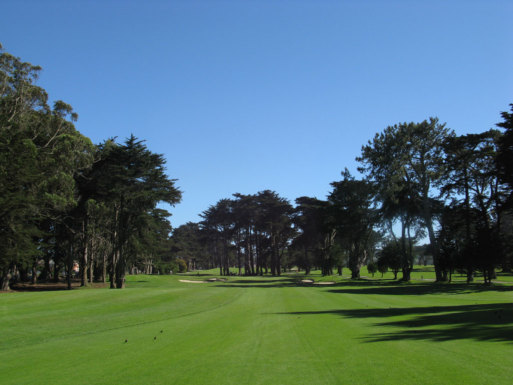 12th Hole at TPC Harding Park (480 Yard Par 5)