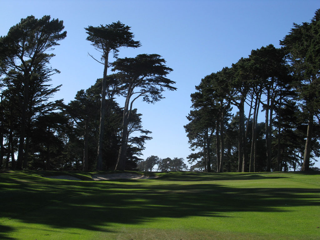 14th Hole at TPC Harding Park (440 Yard Par 4)