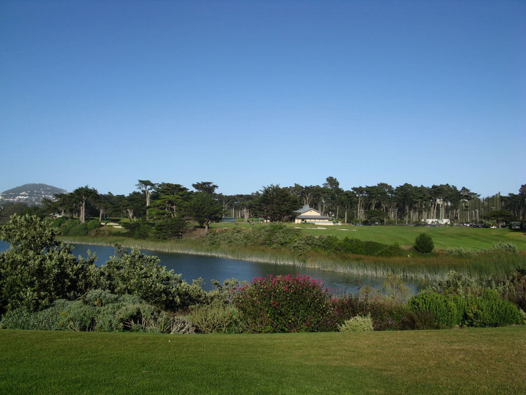 18th Hole at TPC Harding Park (440 Yard Par 4)