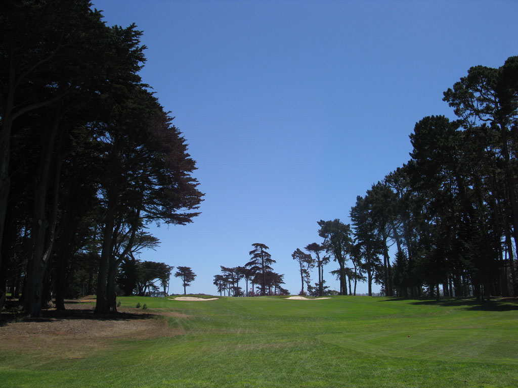 3rd Hole at TPC Harding Park (165 Yard Par 3)
