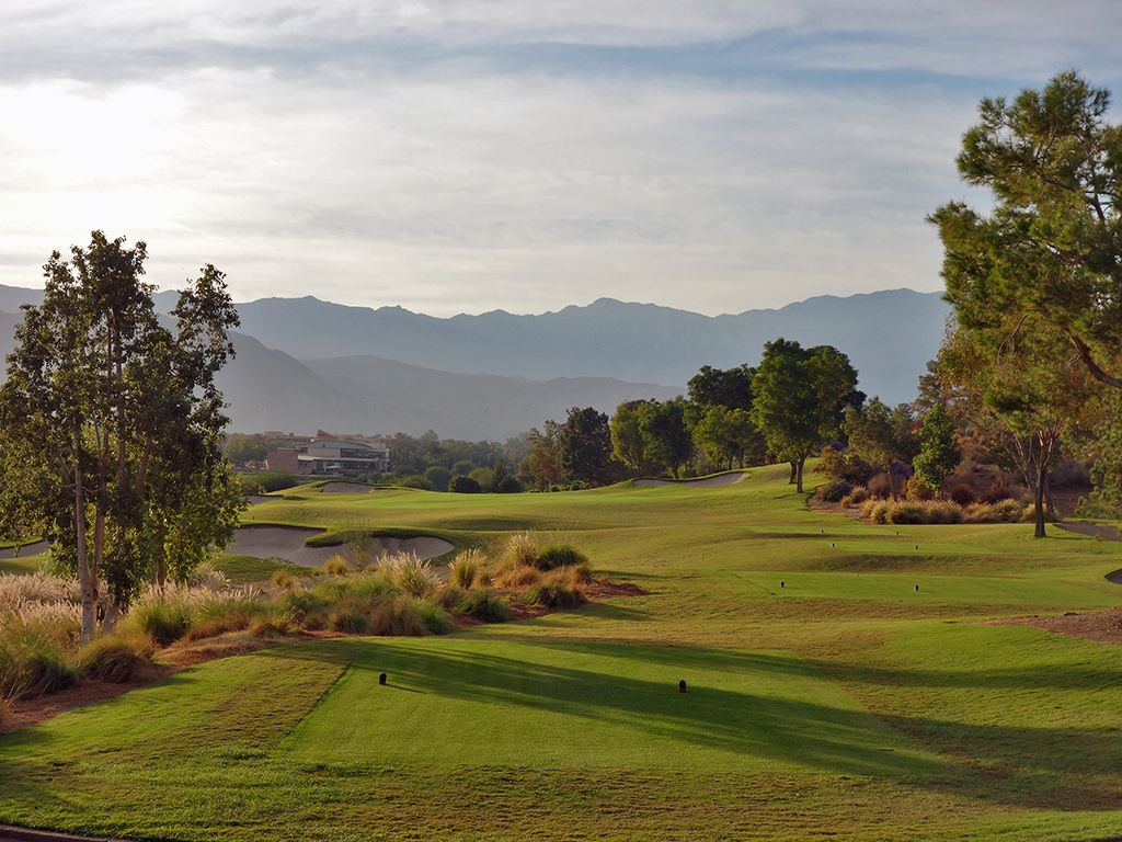 16th Hole at Indian Wells Resort (Players) (396 Yard Par 4)