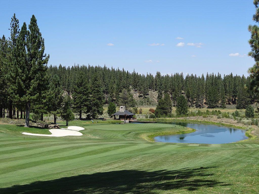 12th Hole at Lahontan Golf Club (594 Yard Par 5)