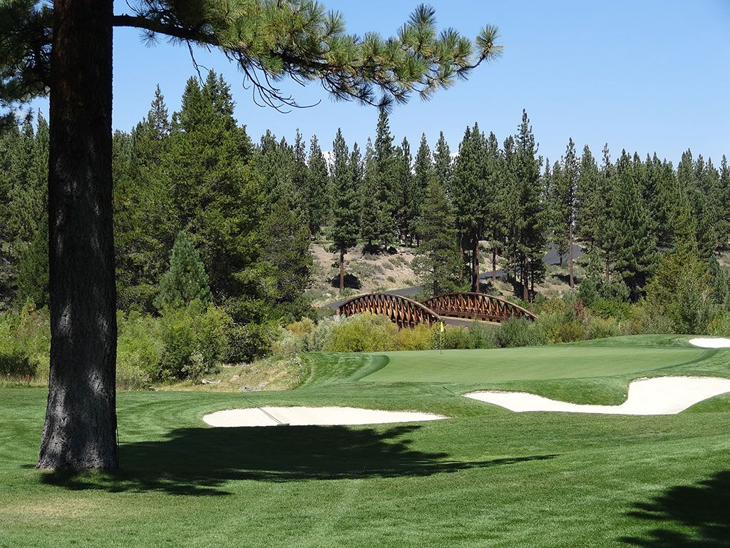 16th Hole at Lahontan Golf Club (158 Yard Par 3)