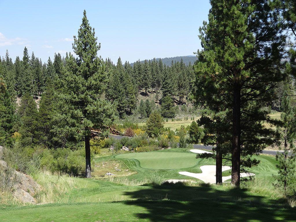 16th Hole at Lahontan Golf Club (158 Yard Par 3)
