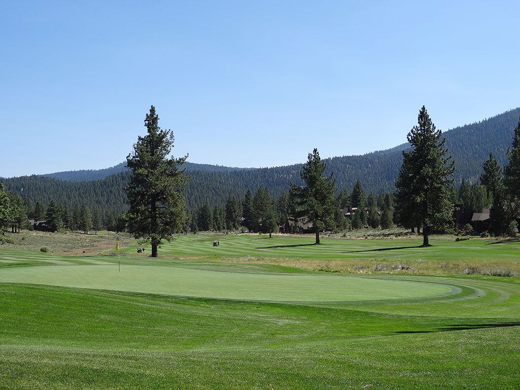 17th Hole at Lahontan Golf Club (621 Yard Par 5)