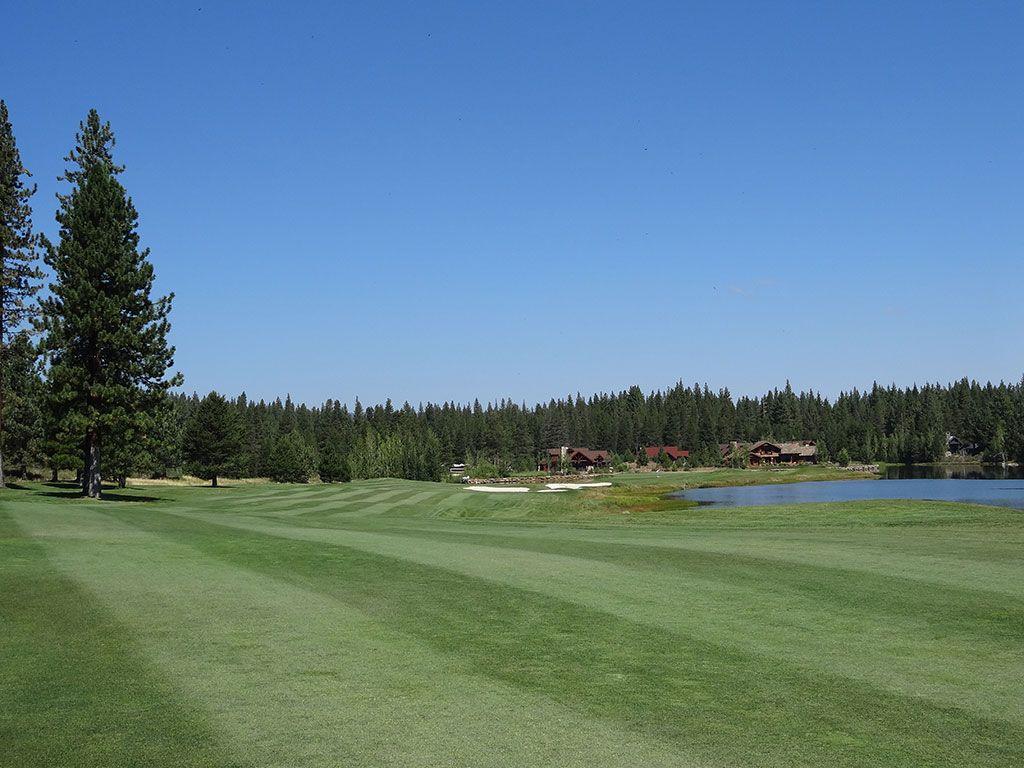 2nd Hole at Lahontan Golf Club (627 Yard Par 5)
