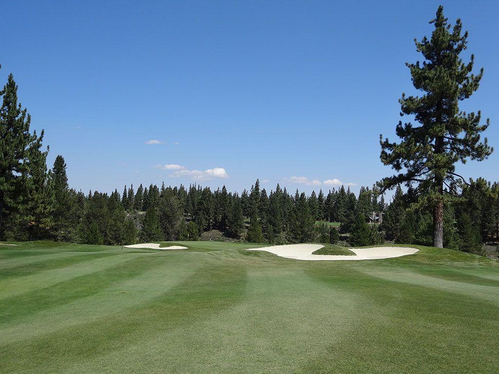 9th Hole at Lahontan Golf Club (348 Yard Par 4)