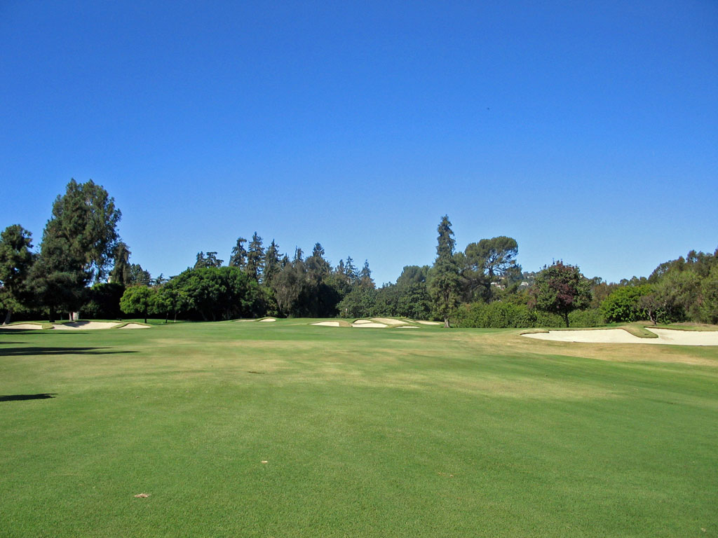 13th Hole at Los Angeles Country Club (453 Yard Par 4)