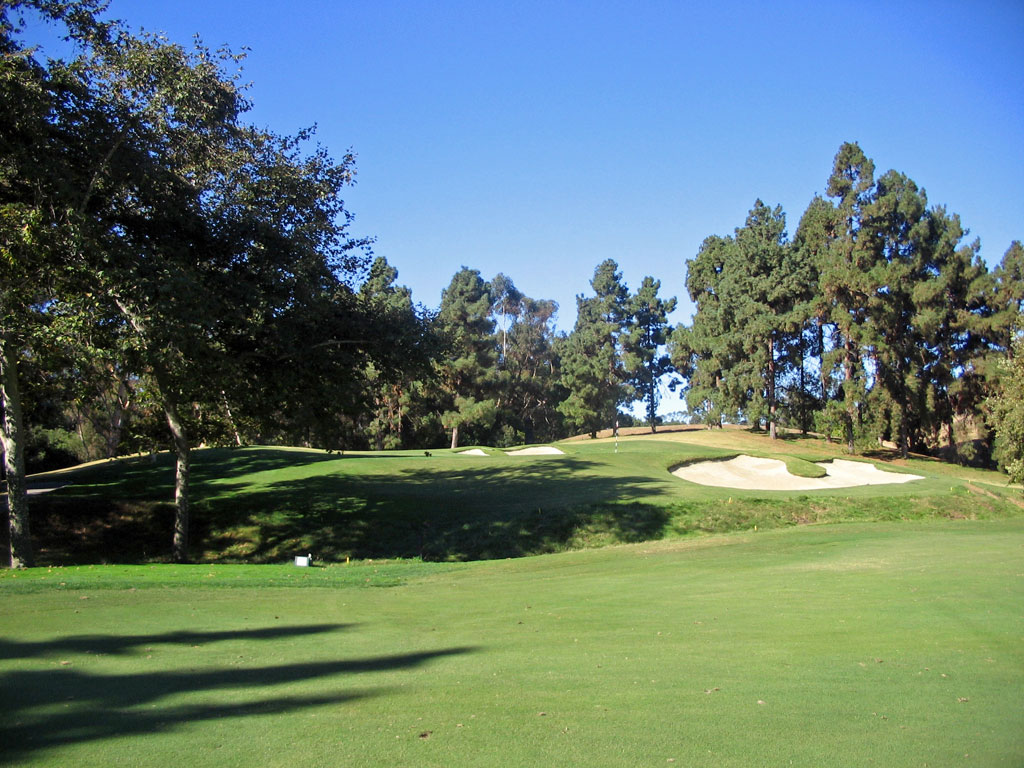 6th Hole at Los Angeles Country Club (340 Yard Par 4)
